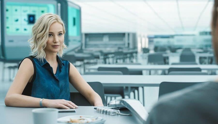 Jennifer Lawrence in una scena del film