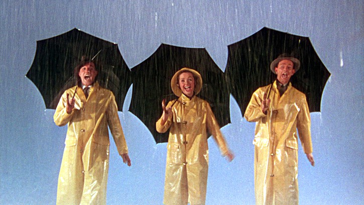 Titoli di testa Singing in the rain (1952)