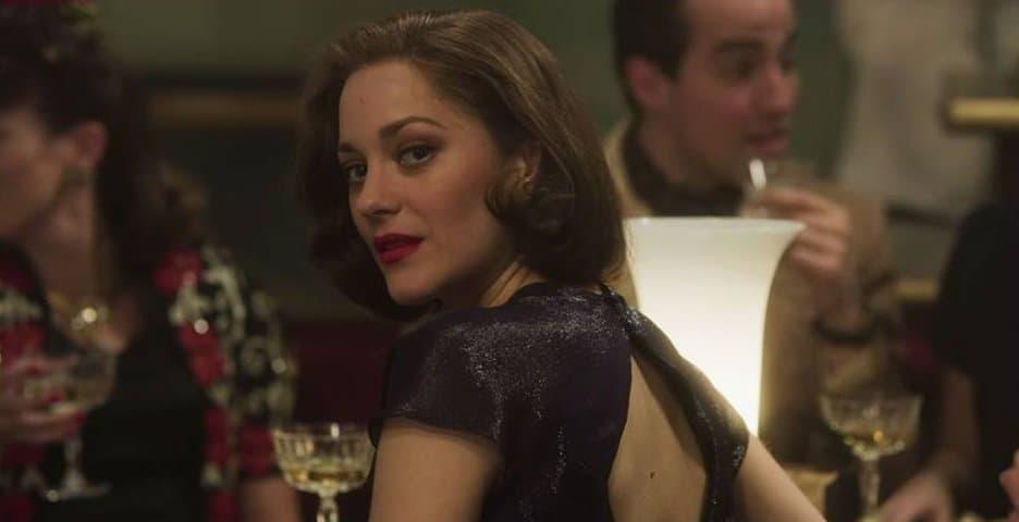 Marion Cottilard in una scena del film