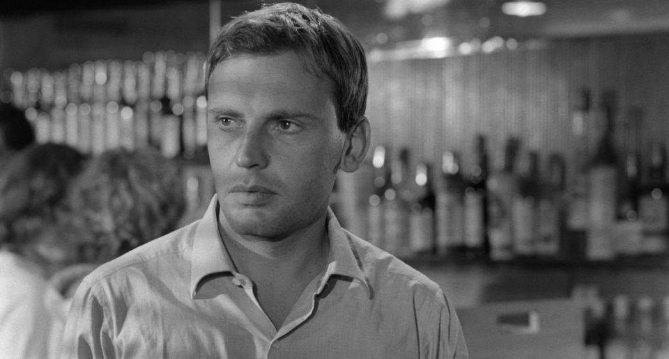 Jean Louis Trintignant in una scena del film