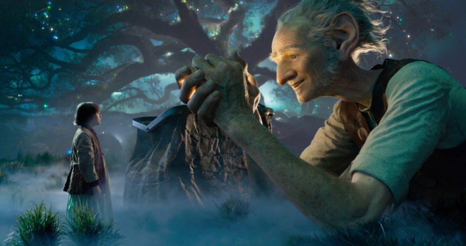 Il GGG - Il Grande Gigante Gentile di Steven Spielberg