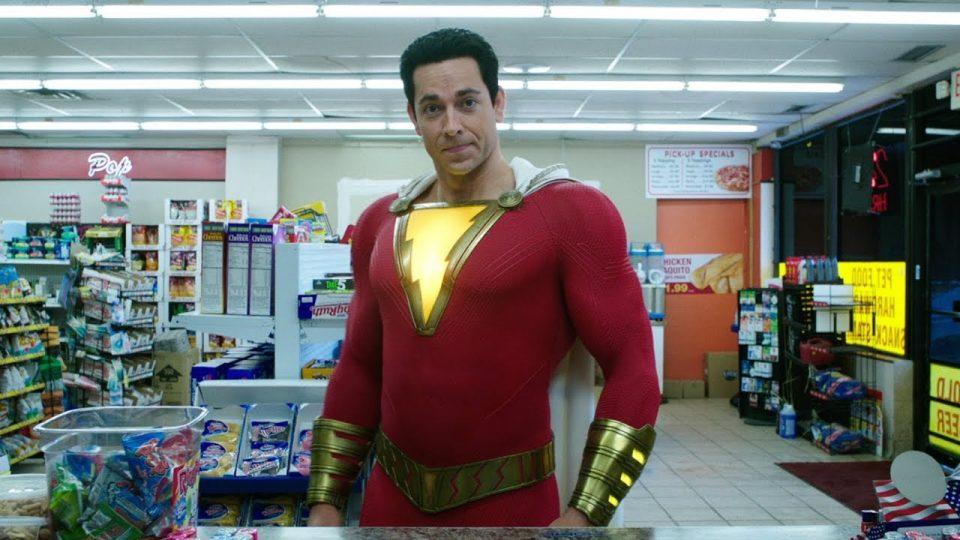 Zachary Levy nel ruolo di Shazam!