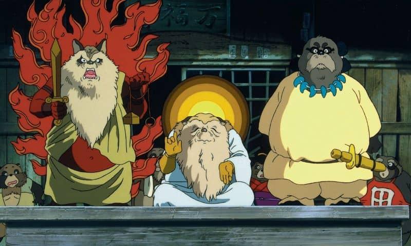 I tre anziani tanuki