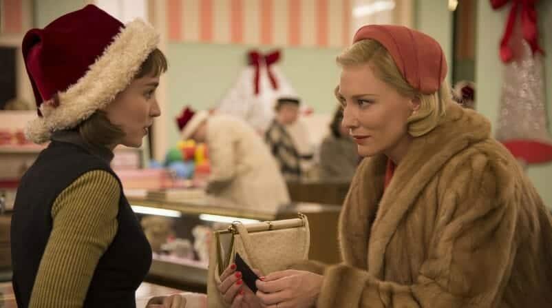 Carol - Cate Blanchett e Rooney Mara