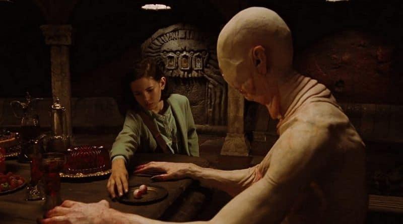 uomo pallido del labirinto